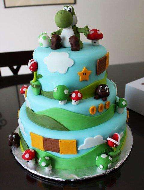 Felicidades Yoshi-Dan xD Yoshi-birthday-cake