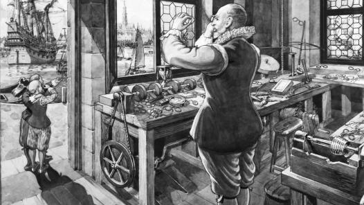 A invenção do telescópio. Hans-Lippershey