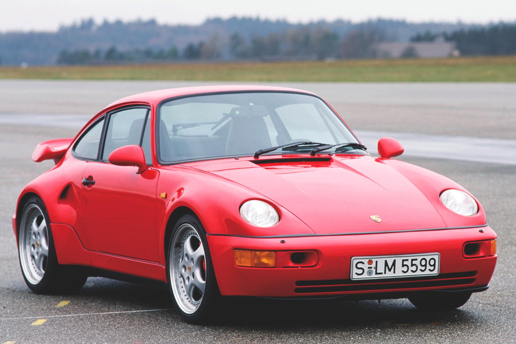 2018 - [Porsche] 935 Porsche-964-Turbo-flatnose