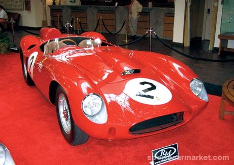 Najskuplji automobili prodati na aukcijama  Ferrari-330-TR-LM-1962