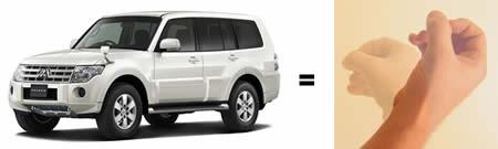 Najgori nazivi automobila  Mitsubishi-drkadzija