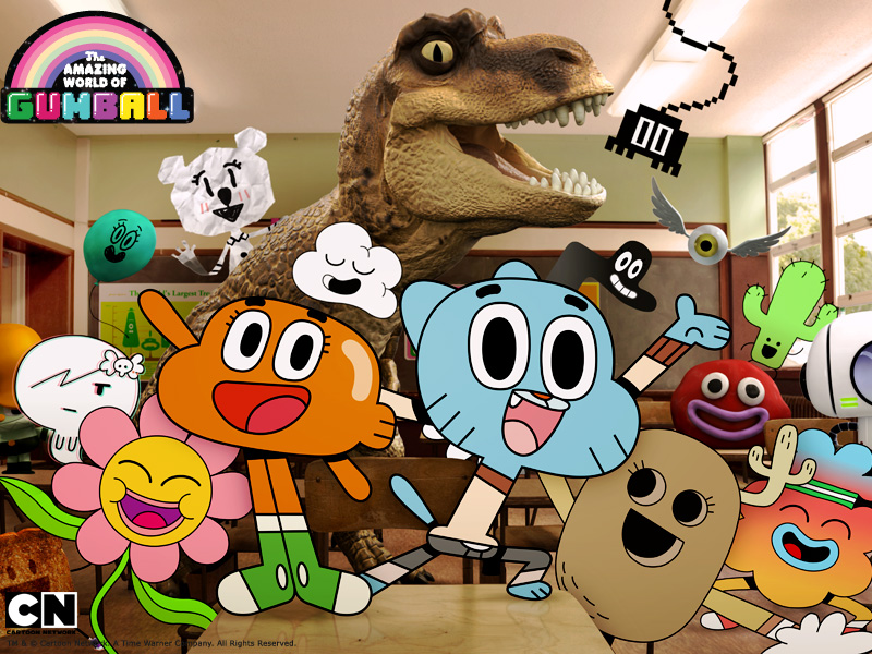 Animes e Animações AmazingWorld_Gumball