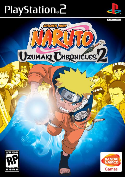 PS2 - Naruto Uzumaki Chronicles 2 Boxshot_us_large
