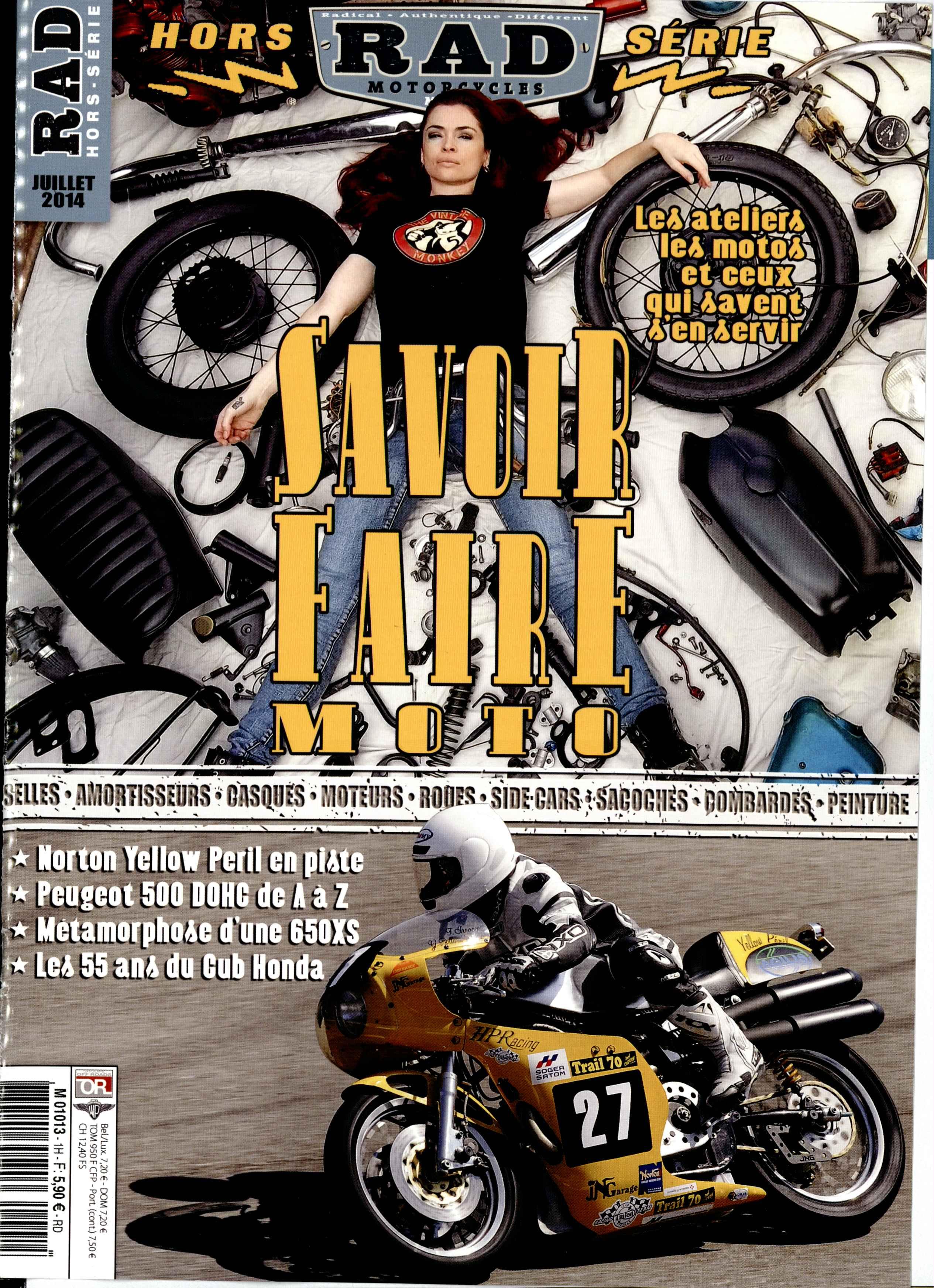 Belle Bete Rad-motorcycles-hors-serie