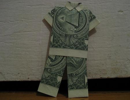 TOOZDAY HAI MOT Dollarbillorigami3