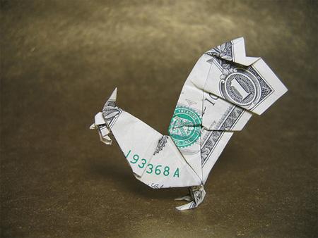 TOOZDAY HAI MOT Dollarbillorigami7