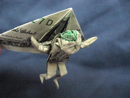 TOOZDAY HAI MOT Dollarbillorigami8
