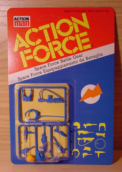 Clear action figure display stands Spaceforce