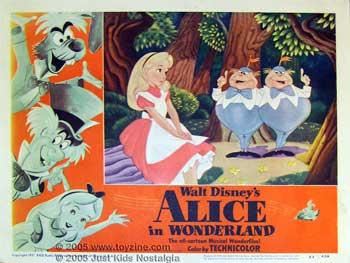 Alice au Pays des Merveilles [Walt Disney - 1951] - Page 5 Alice-in-wonderland-poster