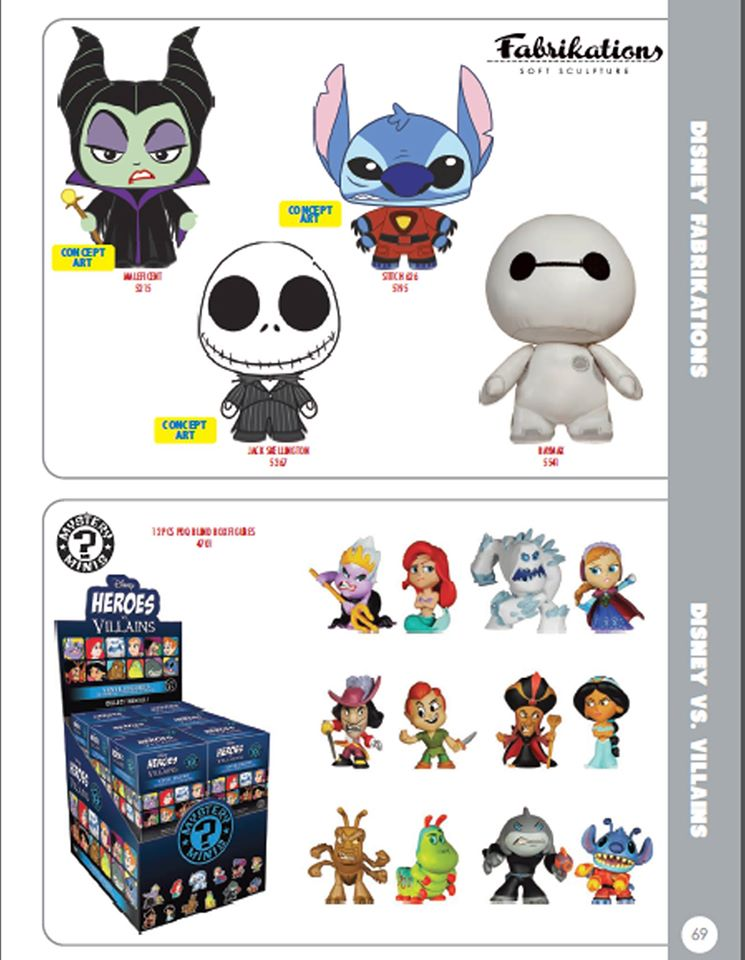 Les Nouveaux Héros - Page 40 Disney-fabrikations-and-mystery-minis