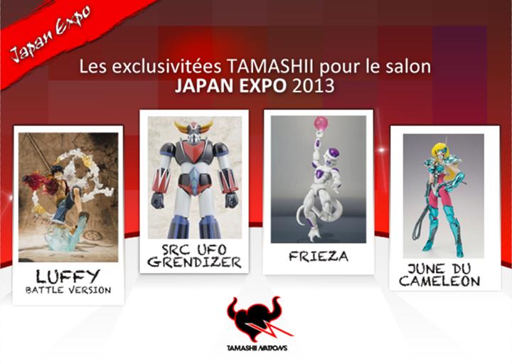 JAPAN EXPO / COMIC CON Paris 2013 Tamashii-Nation-exclue-japan-expo-2013