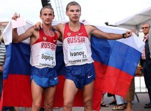 3 marcheurs Russes aux Mondiaux  Bogatyrev-ivanov-300x221