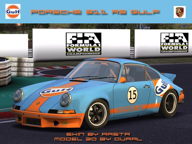 Gulf..... Porsche911RSGulf
