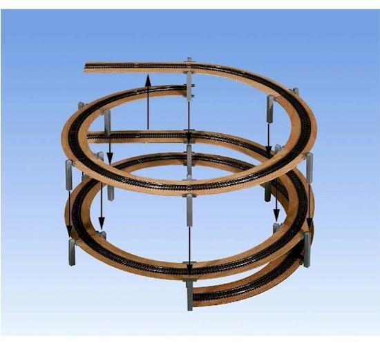 Rampes hélicoïdales et différentes voies en H0  - Page 2 53104
