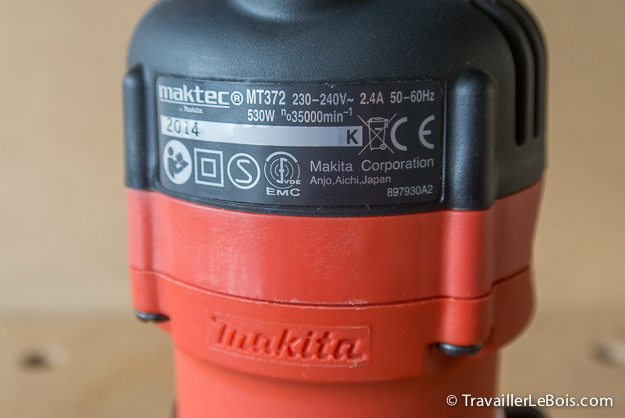 Affleureuse Maktec MT372 (by Makita) Affleureuse-maktec_MT372_makita-13