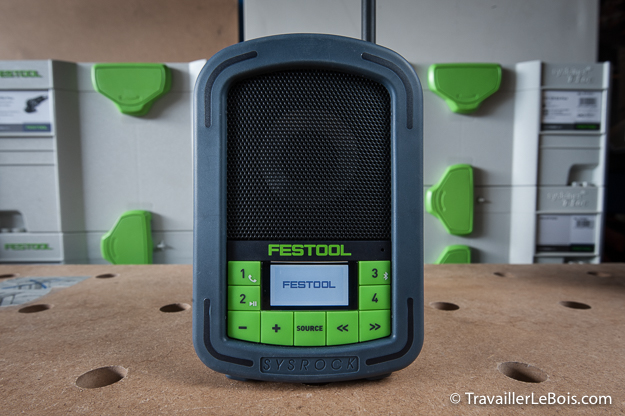 La radio de chantier Festool SYSROCK BR 10 Festool_sysrock_br_10-28