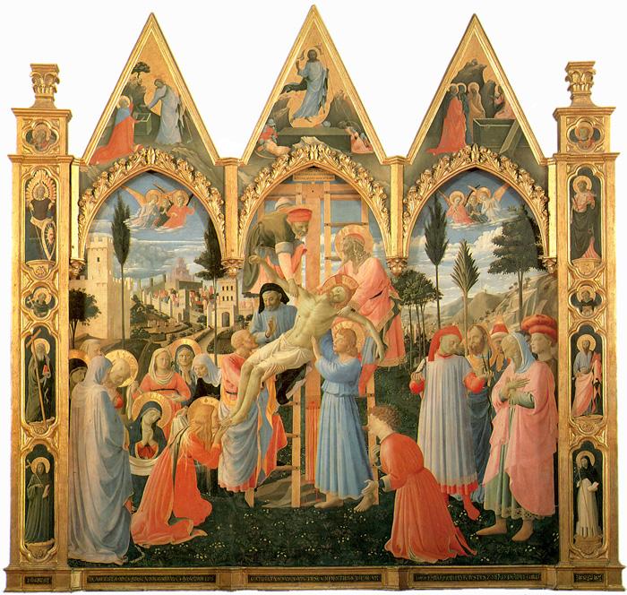 La deposizione dalla croce. Rosso Fiorentino e altri artisti. Deposition700