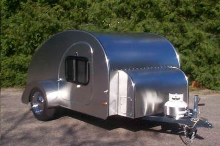 two new pipes and an updated version of my blowfish Camp-inn-teardrop-trailer