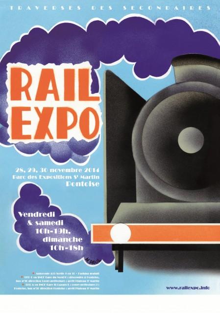 Rail Expo 2014 - Cergy-Pontoise (Banlieue parisienne) - 28-30 novembre 2014 Vignette-visuel-RailExpo-2014-420x594-sans-partenaire-449x640