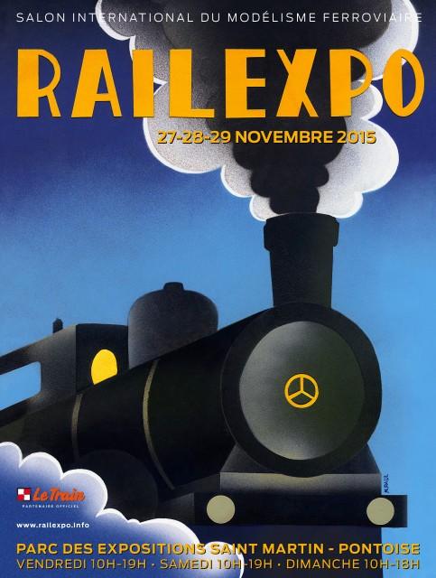 Rail Expo 2015 - Cergy-Pontoise (Banlieue parisienne) - 27-29 novembre 2015 Rail-Expo-2015-420x594-3-483x640