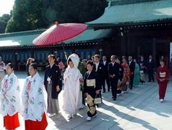 Cérémonie du mariage au Japon Japon63