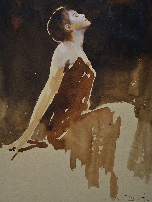 Emma pose pour un peintre L-actrice-et-icone-de-mode-Emma-Watson-immortalisee-par-le-peintre-Mark-Demsteader