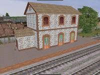 Una estació pel tren d'Olesa EViaMetrica