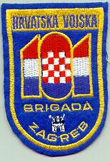 insignes Croate H.V et H.V.O 1991/1995 Cr101