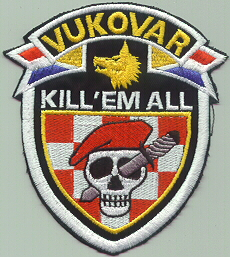 insignes Croate H.V et H.V.O 1991/1995 Cr102