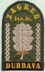 insignes Croate H.V et H.V.O 1991/1995 Cr103