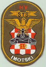 insignes Croate H.V et H.V.O 1991/1995 Cr115