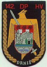insignes Croate H.V et H.V.O 1991/1995 Cr155