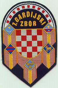 insignes Croate H.V et H.V.O 1991/1995 Cr156