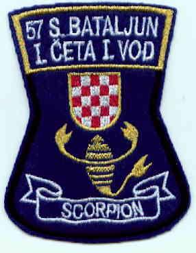 insignes Croate H.V et H.V.O 1991/1995 Rs128b