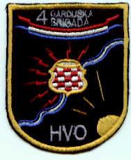 insignes Croate H.V et H.V.O 1991/1995 Rs113b