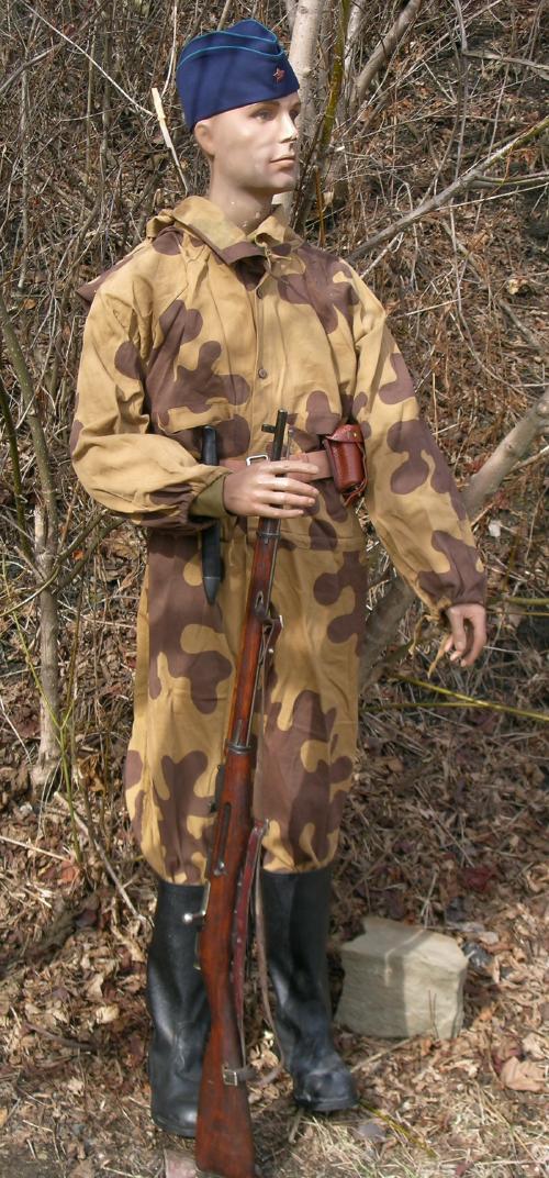 Le Camouflage soviétique dit Amibe Parab