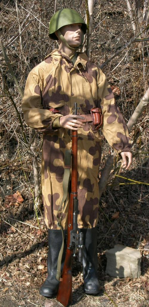 Le Camouflage soviétique dit Amibe Sniperb