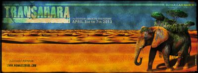 TRANSAHARA : Dunes Can Dance : 3-7 April 2013 : Morocco Bannerforum