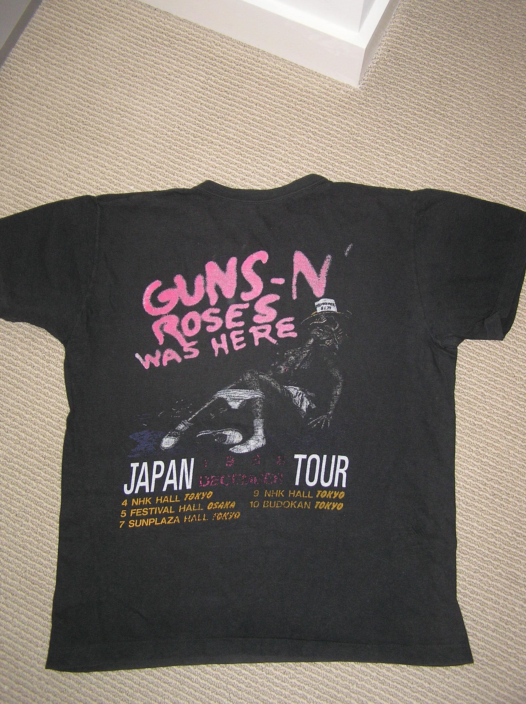 1987.11.21 - MTV Japan - Interviews with Axl ShirtJapAppTour2
