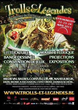 Festival Trolls & Légendes IV - 22, 23, 24 avril 2011 Affiche300