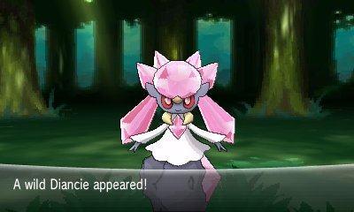 الكشف عن ثلاثة بوكيمونات سرية في لعبة Pokemon X & Y Diancie