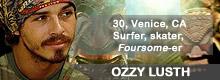 Survivor South Pacific Ozzy