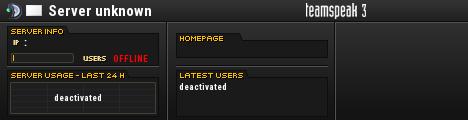 The Void TeamSpeak Server