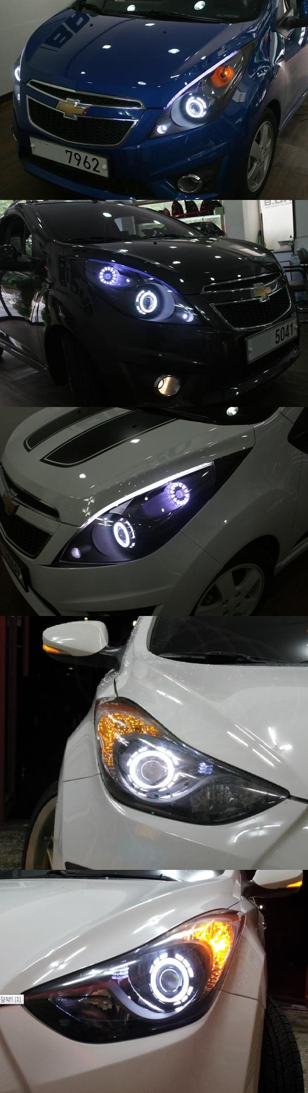 Projection headlight angel eye kits 1313132831