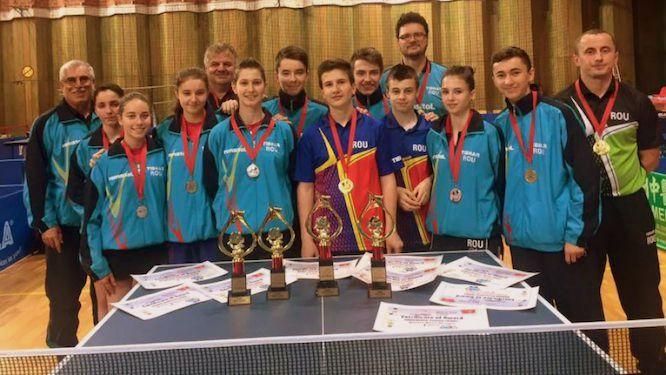 Командный Чемпионат Европы по настольному теннису-ПОРТУГАЛИЯ ЧЕМПИОН B