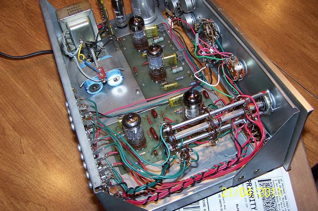 Dynaco PAS 3 Mods Bobpas5