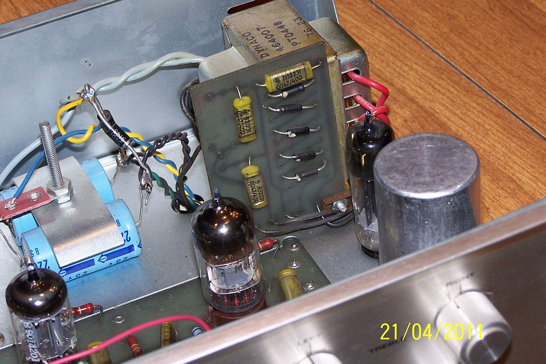 Dynaco PAS 3 Mods Bobpas7
