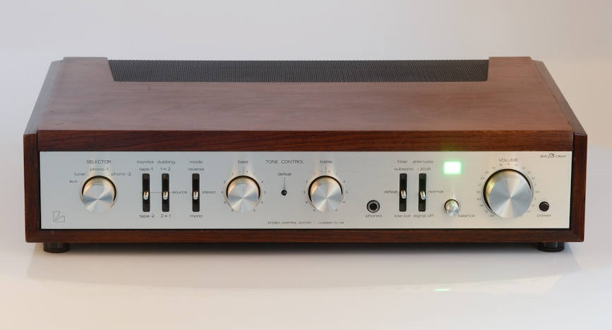 Some of my first audio gear - photo .. Luxman-cl34