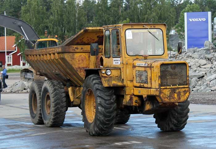 vecchi caricatori gommati serie Volvo LM 846 (L50) (L70) VolvoDR860LJ01