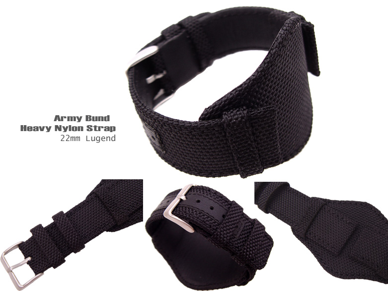 FS: Bunds 20mm, 22mm Nylon & Camouflage Canvas Strap for Military Watch  BUN2220006RFB